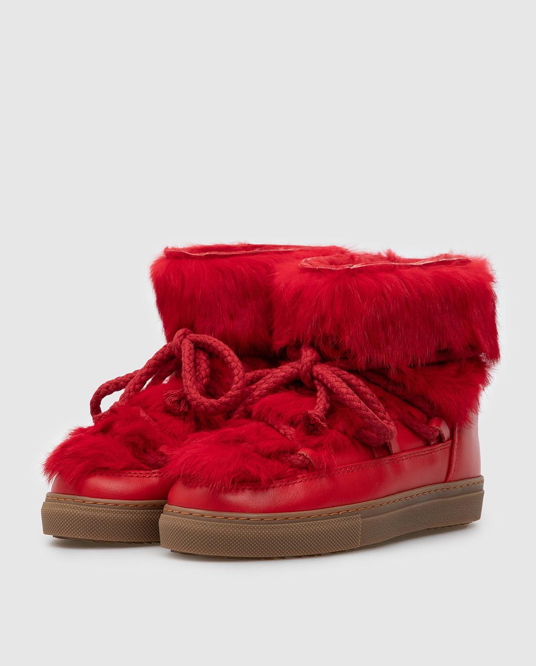 Inuikii Детские красные ботинки 6020242633 изображение 2