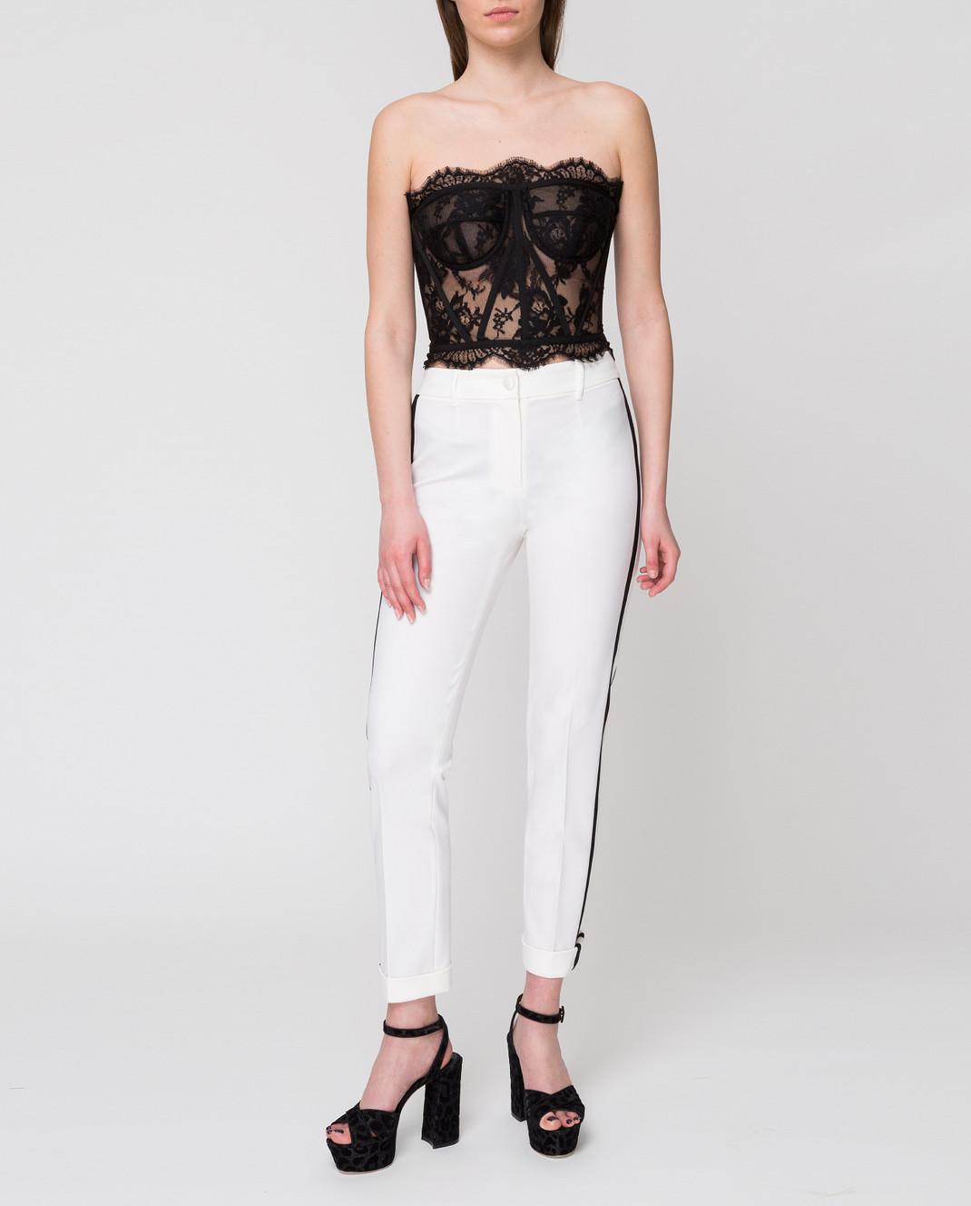 Dolce&Gabbana Белые брюки FTBDETFUCCS изображение 2