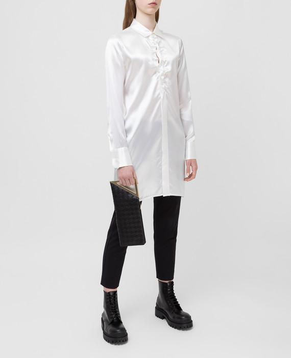 Белая блуза hover