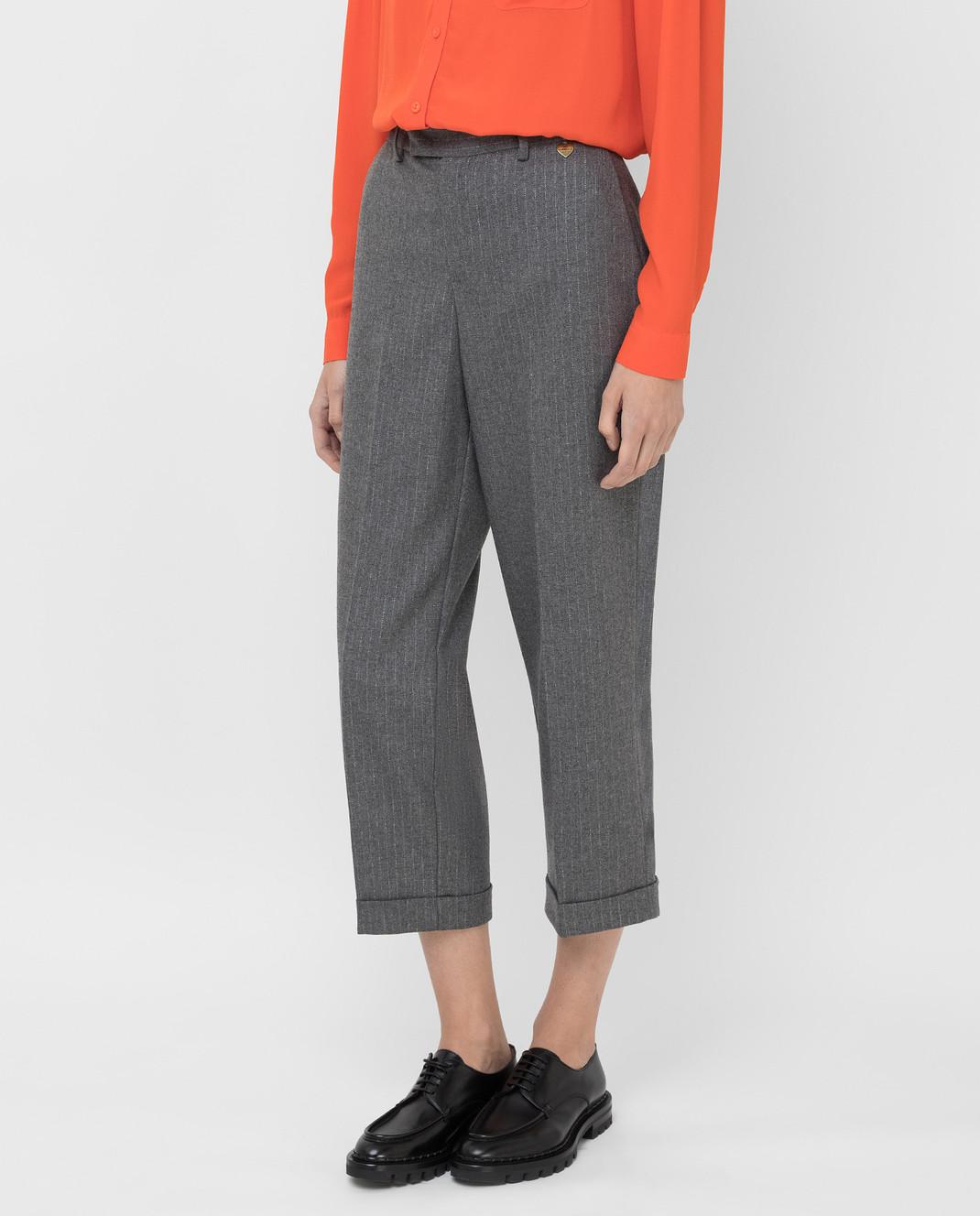 Twin Set Серые брюки изображение 3