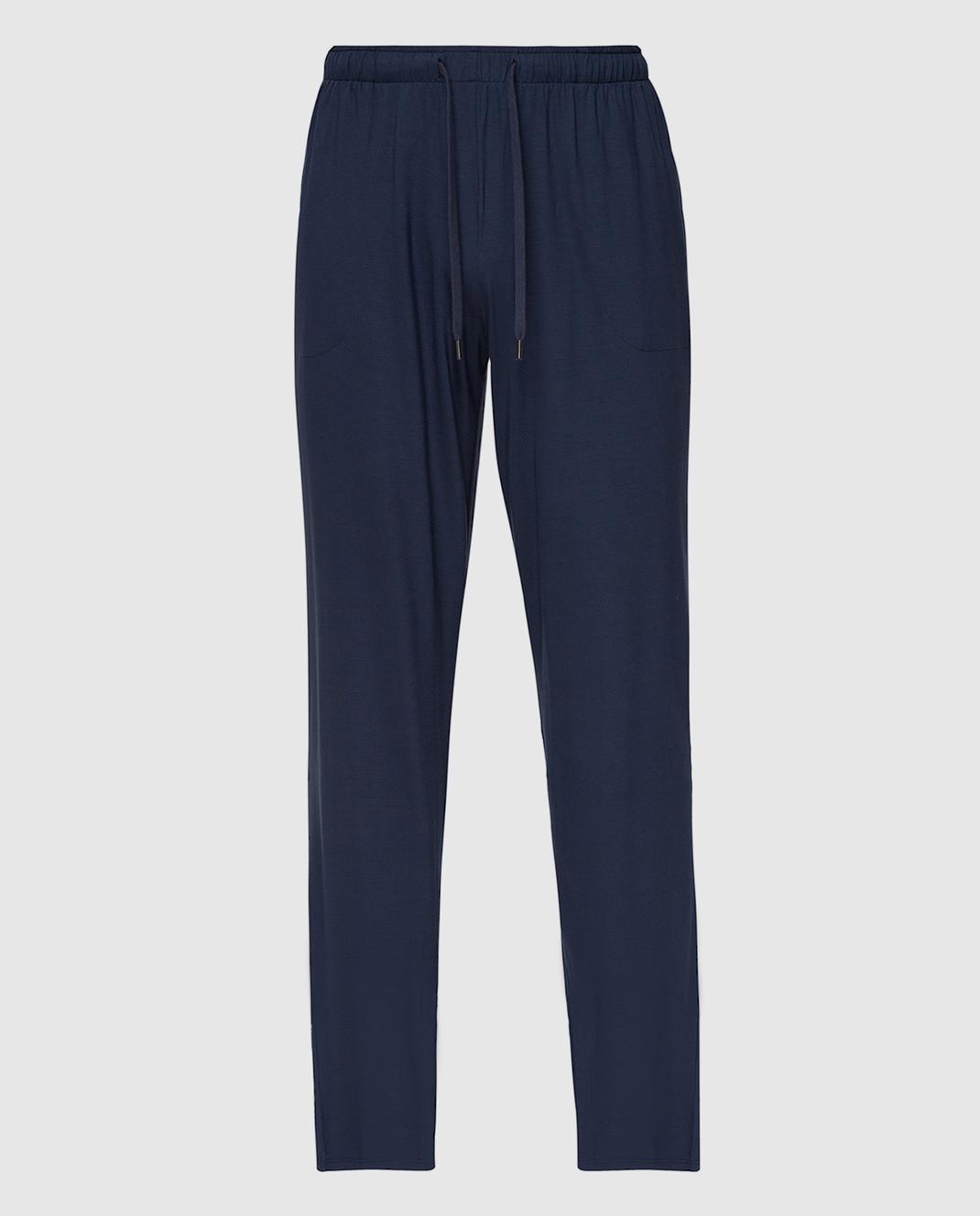 Derek Rose Темно-синие брюки изображение 1