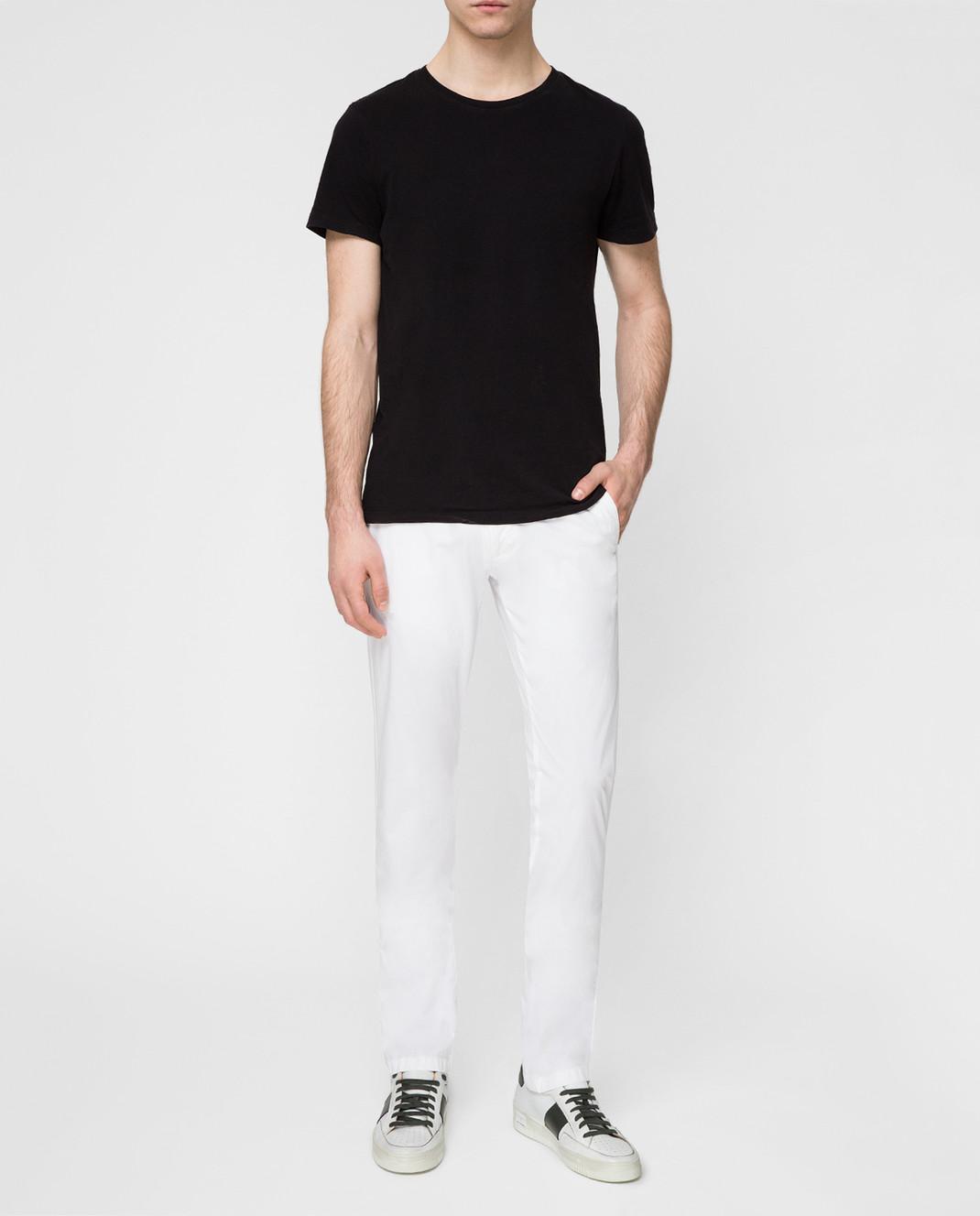 Kiton Белые брюки UPCAPRJ07R90 изображение 2