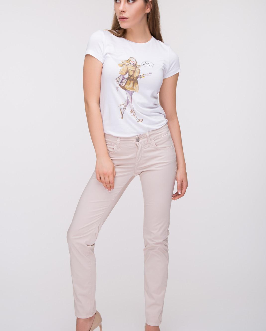 Blugirl Бежевые брюки 1501 изображение 2