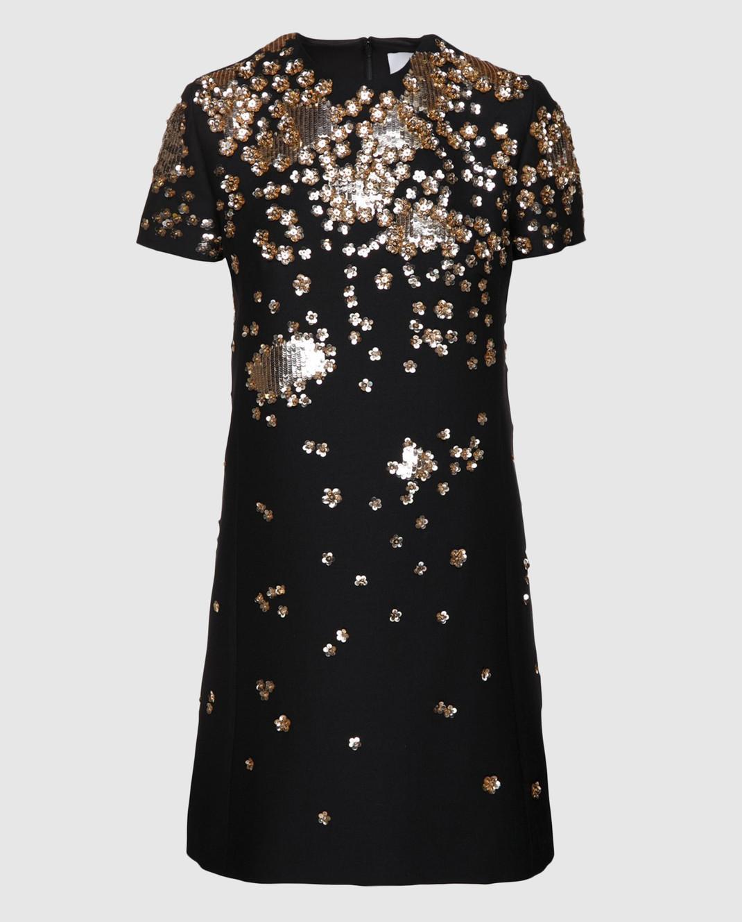 Valentino Черное  платье PB3VAD141CF