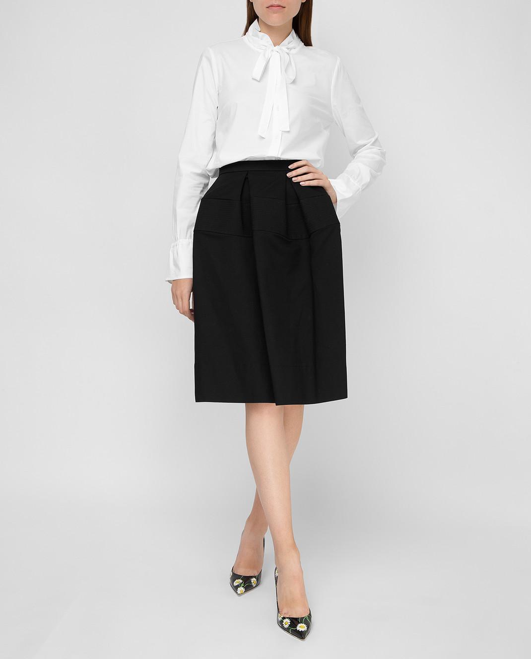 Balenciaga Черная юбка изображение 2