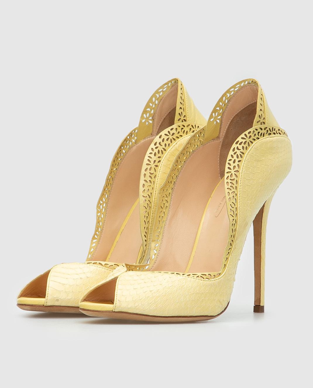 Cerasella Желтые туфли DANAEELAPHE4242 изображение 3