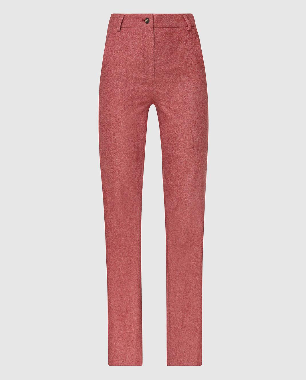 Stile Latino Бордовые брюки PDMARIELLA2EWU01