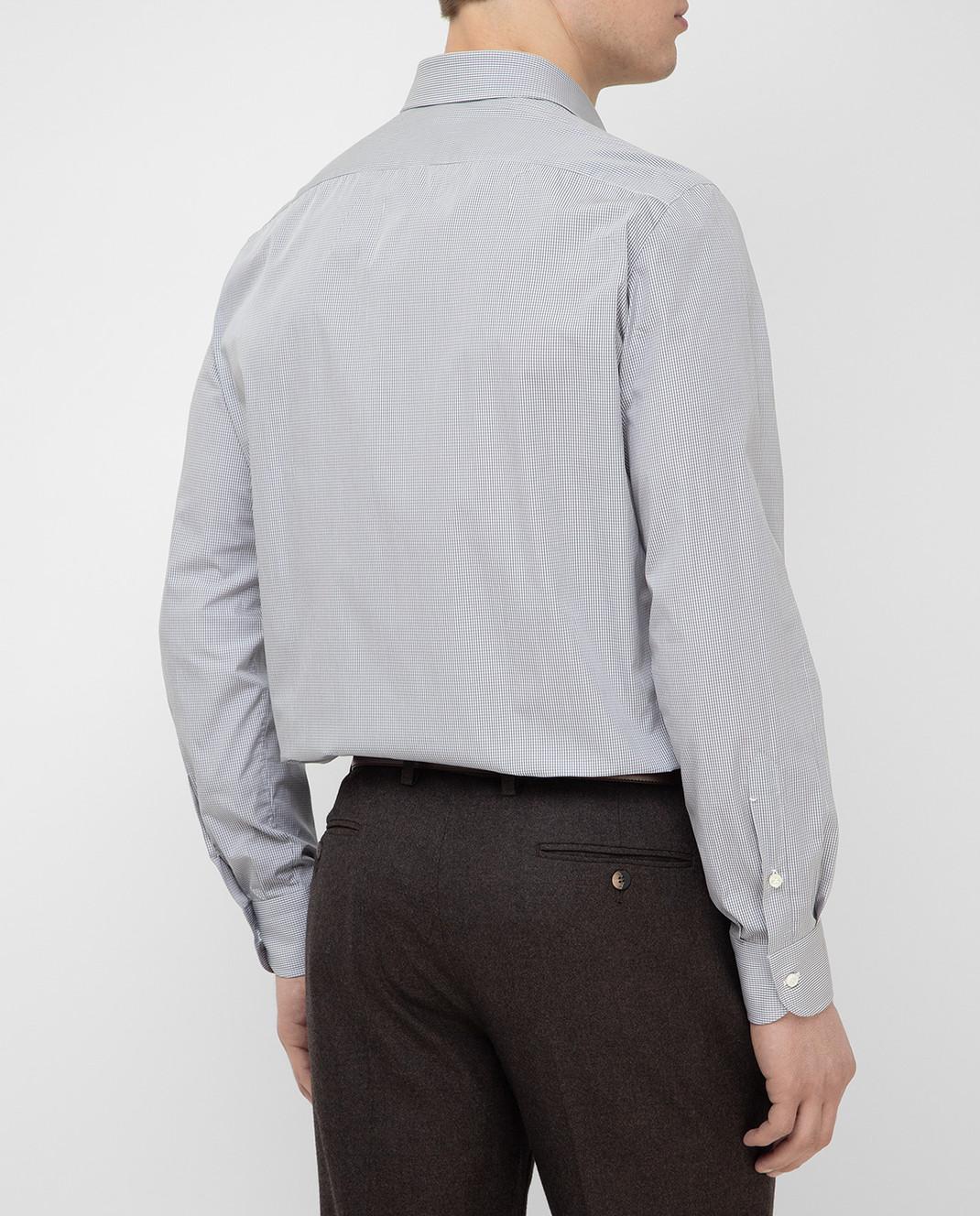 Luciano Lombardi Серая рубашка 990631 изображение 4