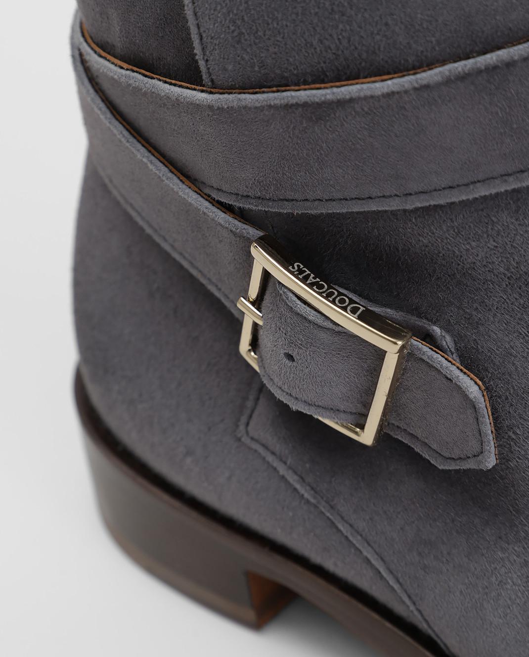 Doucal's Серые замшевые ботинки DD8252PATCUF083 изображение 5