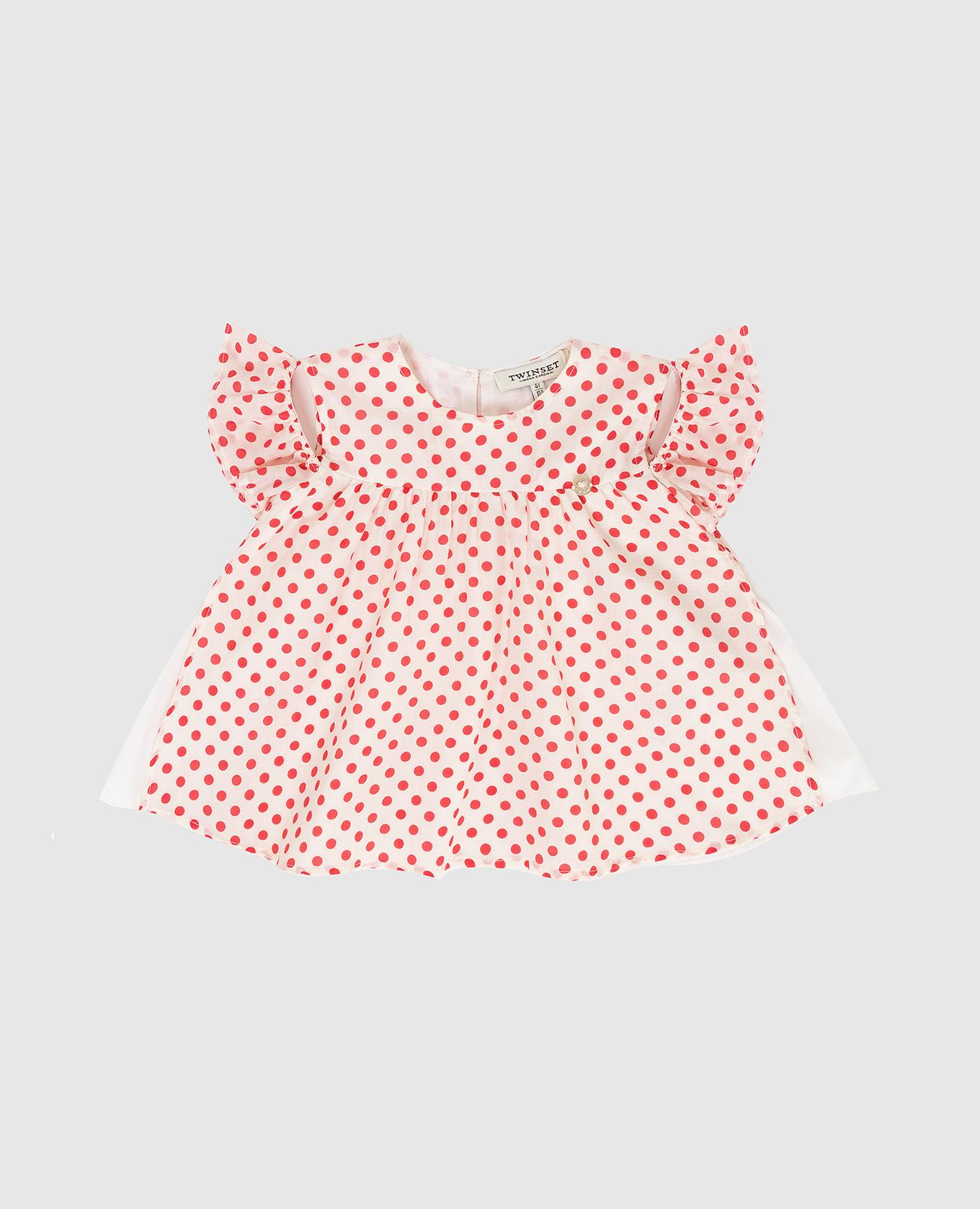 Детская белая блуза