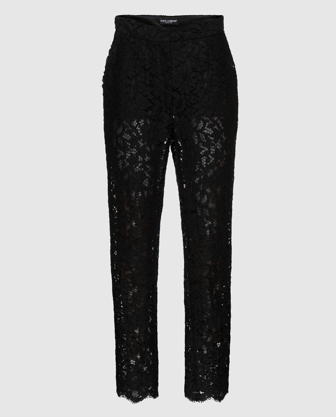 Dolce&Gabbana Черные брюки FTAZATHLMCL