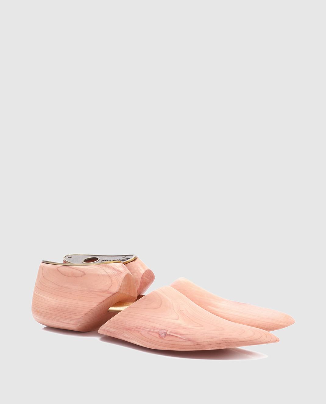 Santoni Бежевая колодка для обуви  из кедра UFAAA1069 изображение 2