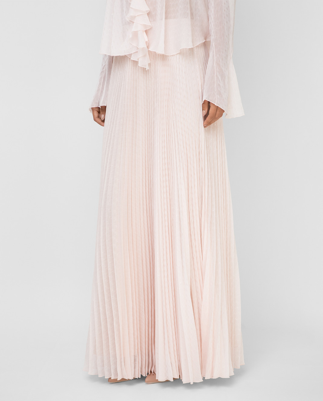 Philosophy di Lorenzo Serafini Светло-розовая юбка изображение 3
