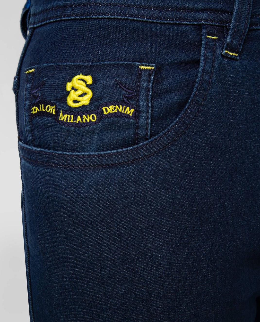 Scissor Scriptor Темно-синие джинсы изображение 5
