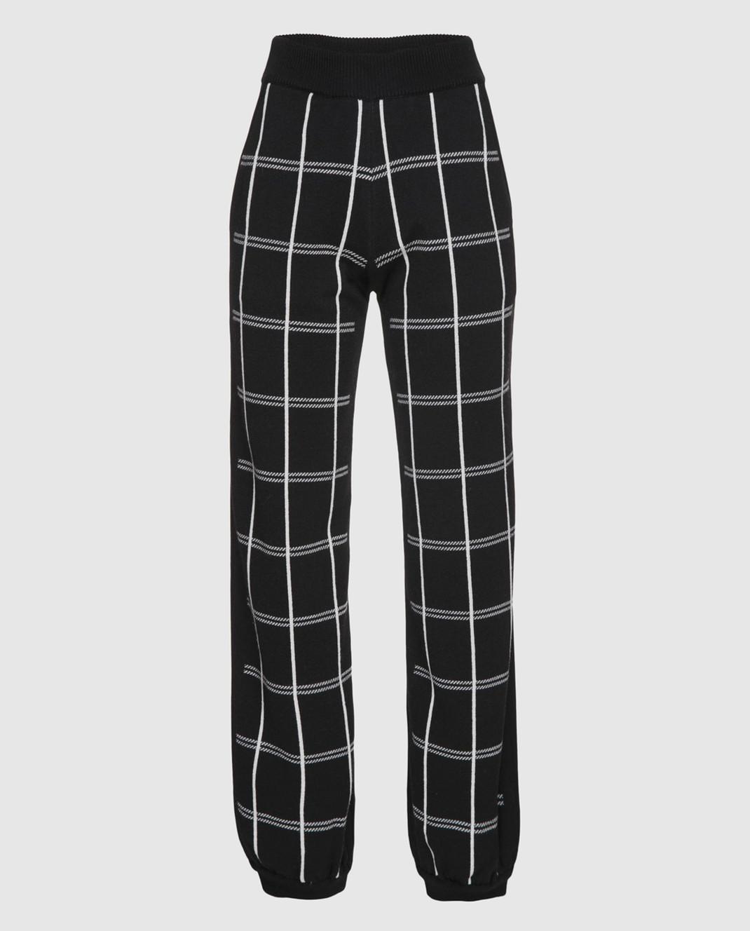 Chloe Черные брюки из шерсти 18SMT01540