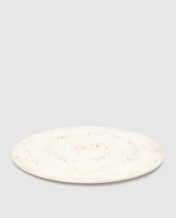 Бежевый столовый аксессуар из керамики ручной работы hover