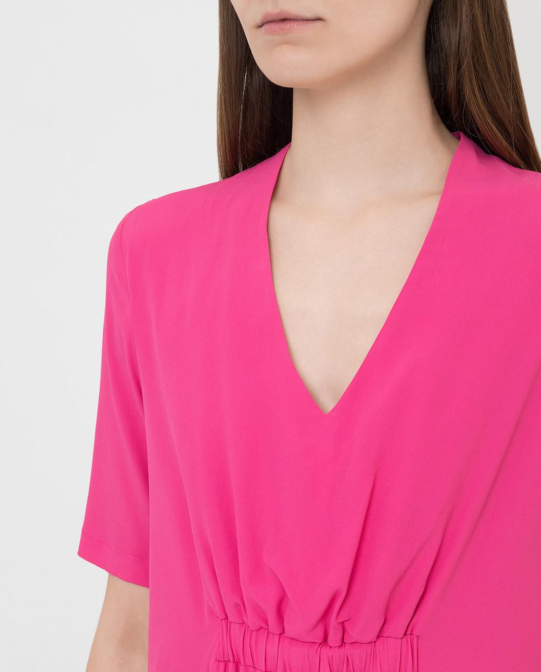 Fabiana Filippi Розовое платье ABD260B985 изображение 5