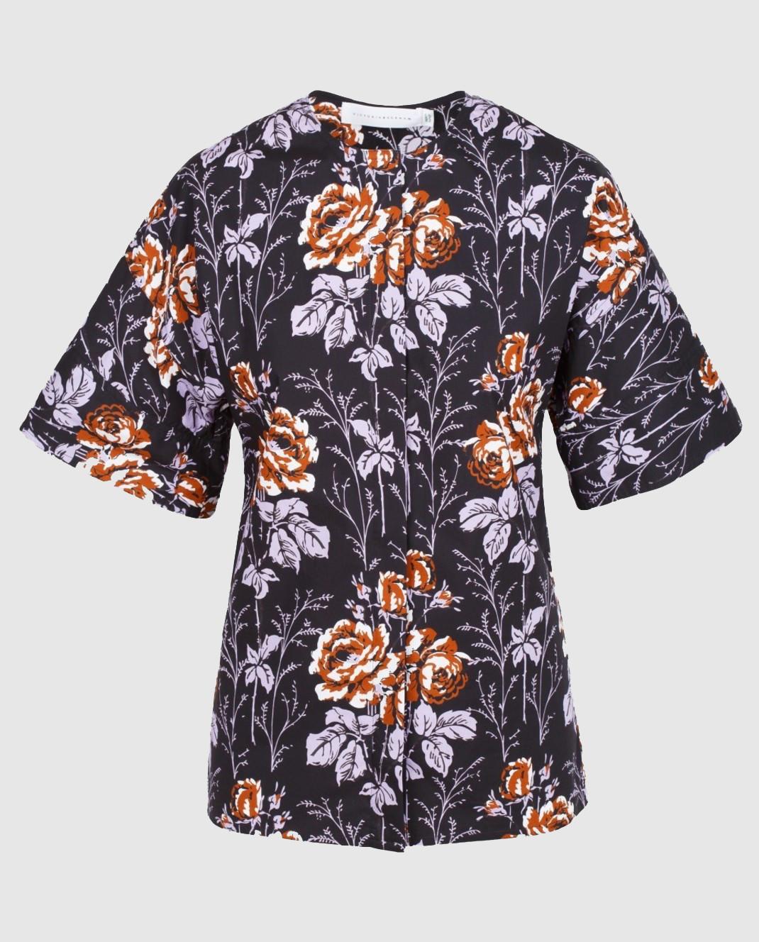 Victoria Beckham Черная блуза SHSHO1047
