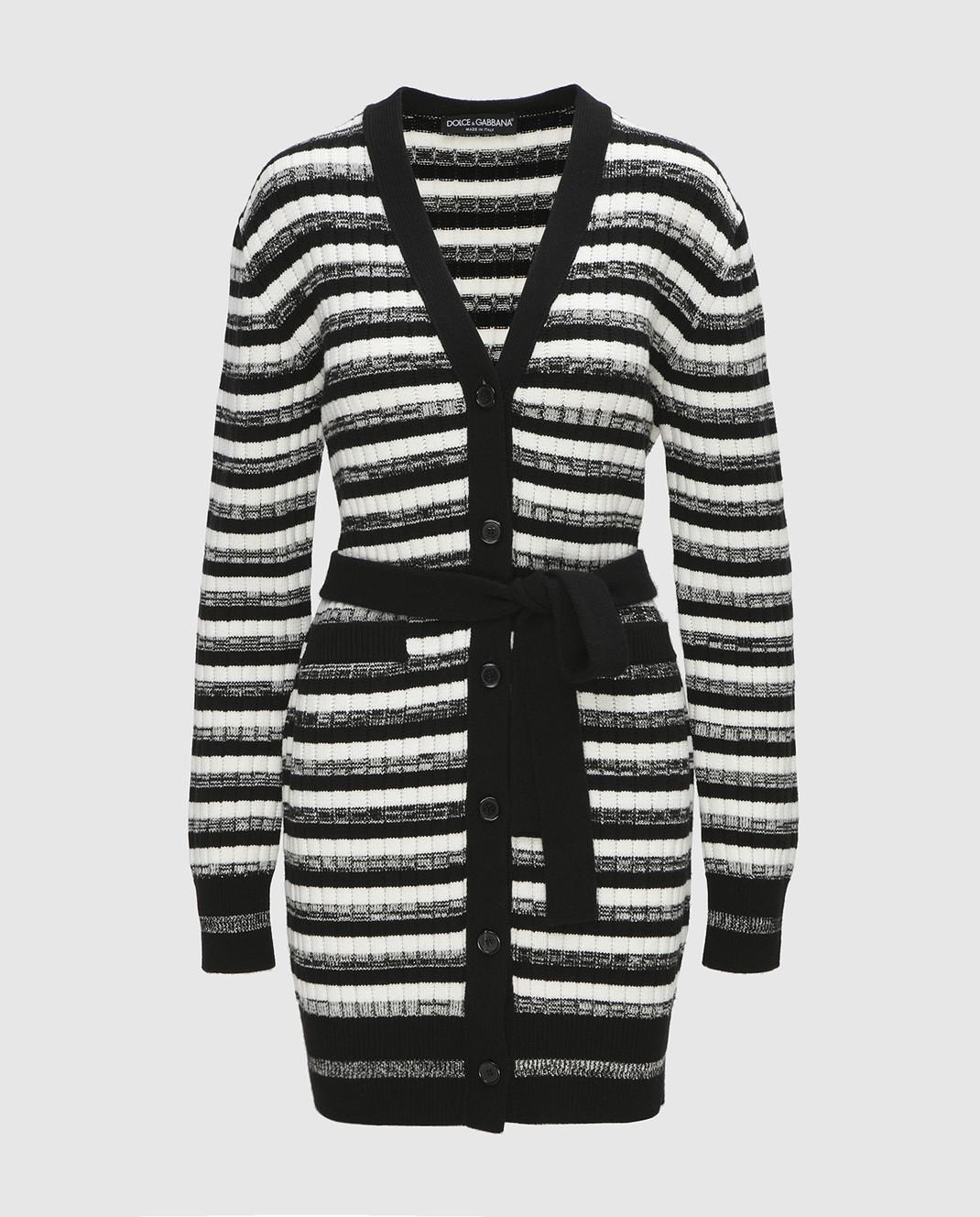 Dolce&Gabbana Черный кардиган FX269TJAMKH