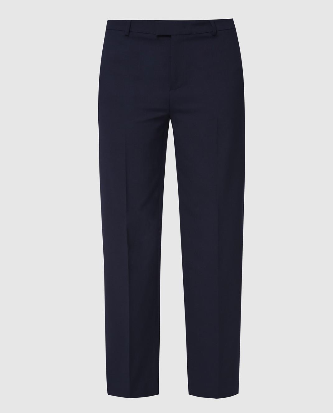 Red Valentino Синие брюки RR3RBA8000J