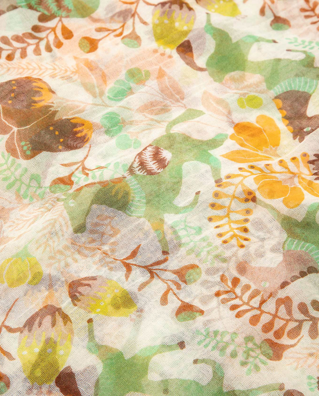 Francesca Bassi Зеленый палантин U17ET21 изображение 3