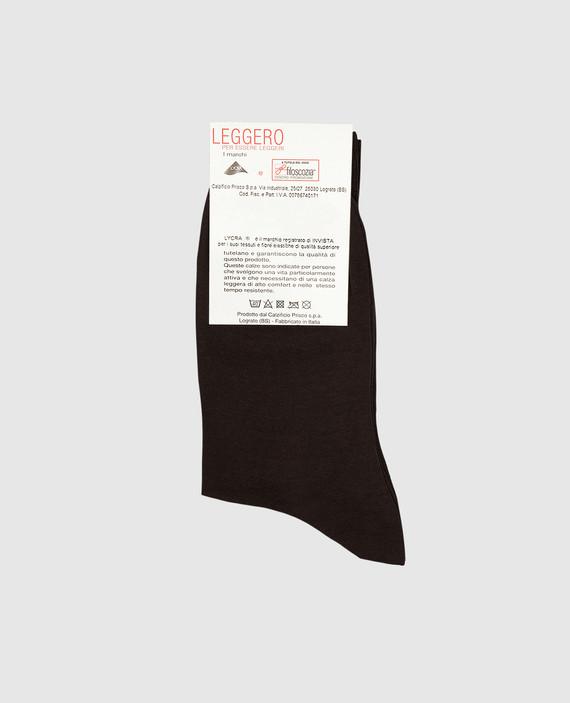 Темно-коричневые носки hover