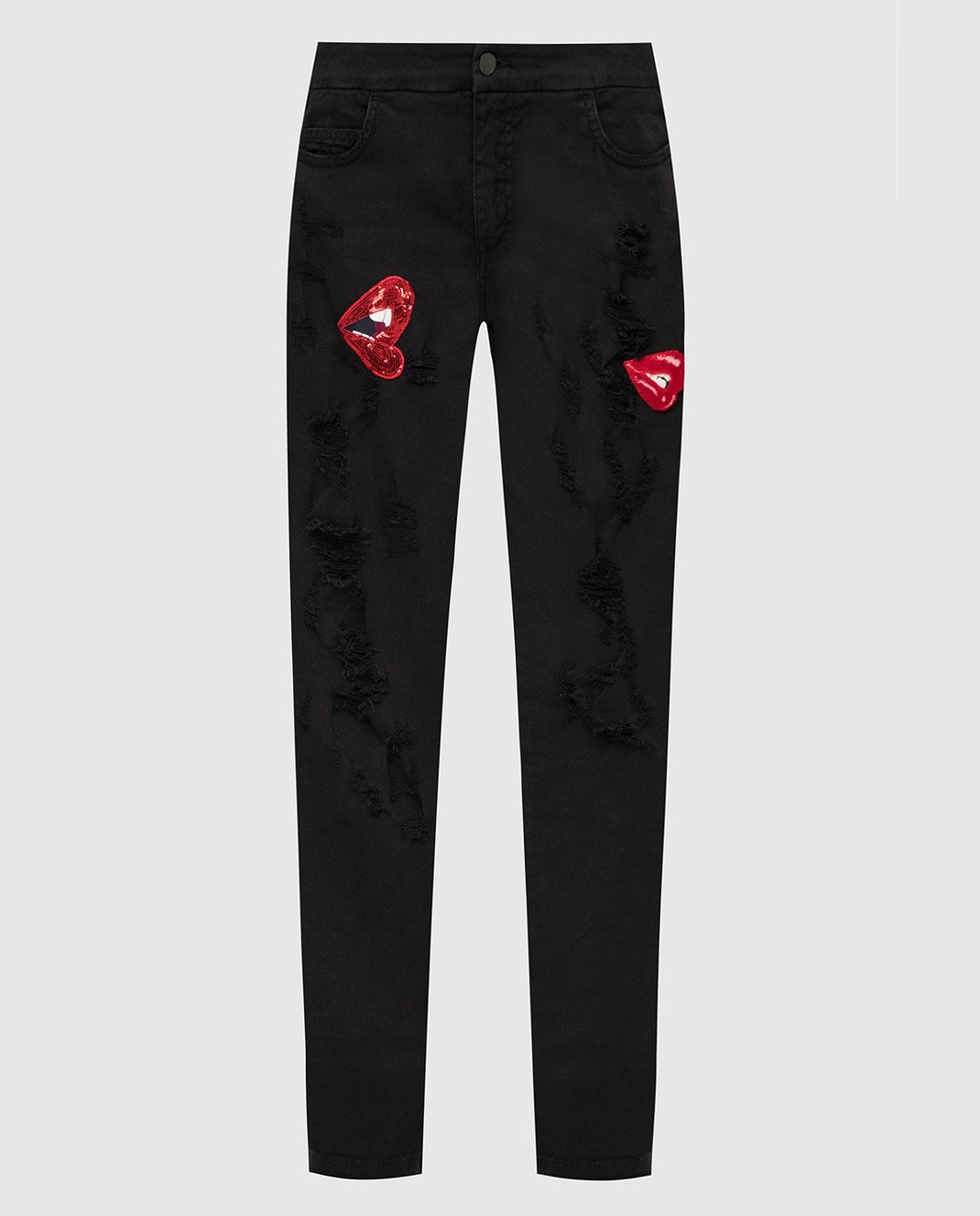 Giamba Черные джинсы изображение 1