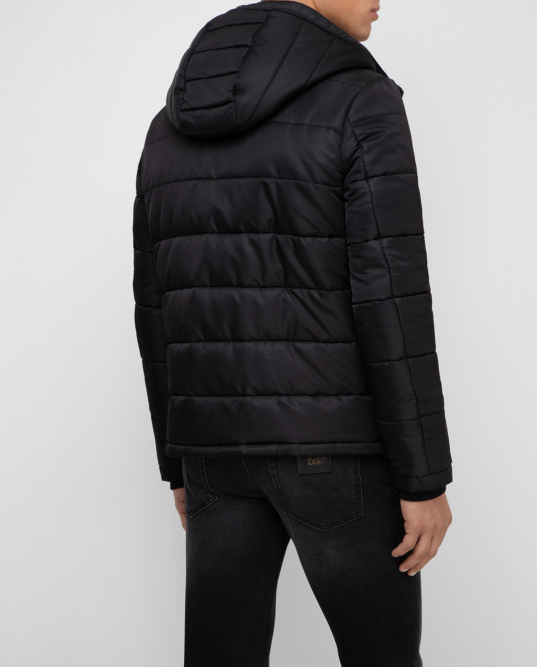 Dolce&Gabbana Черная куртка изображение 4