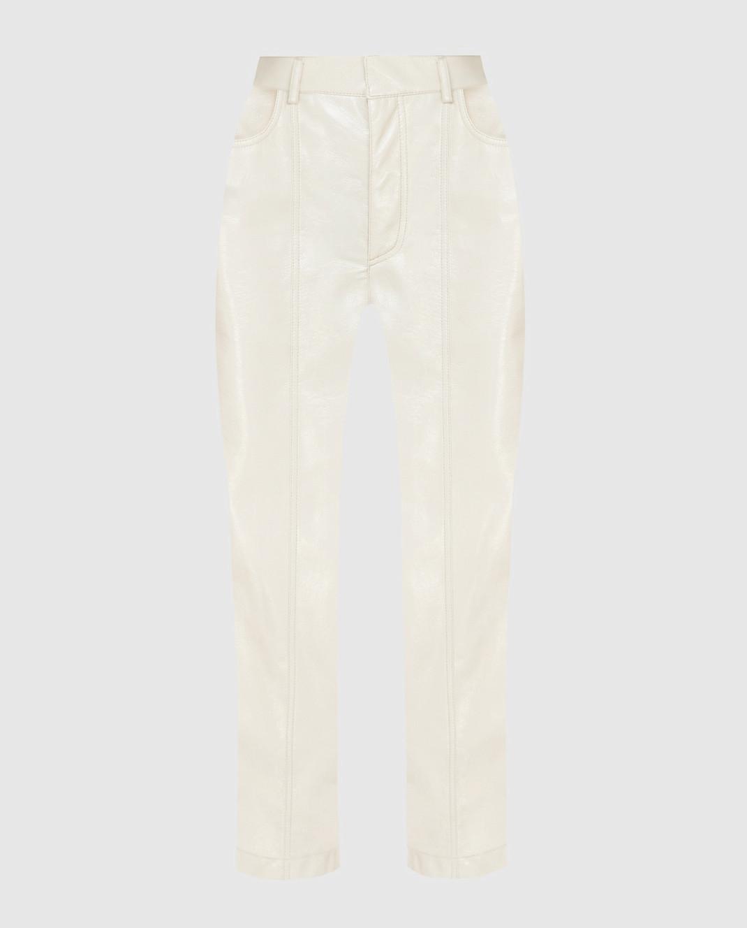 Philosophy di Lorenzo Serafini Светло-бежевые брюки изображение 1