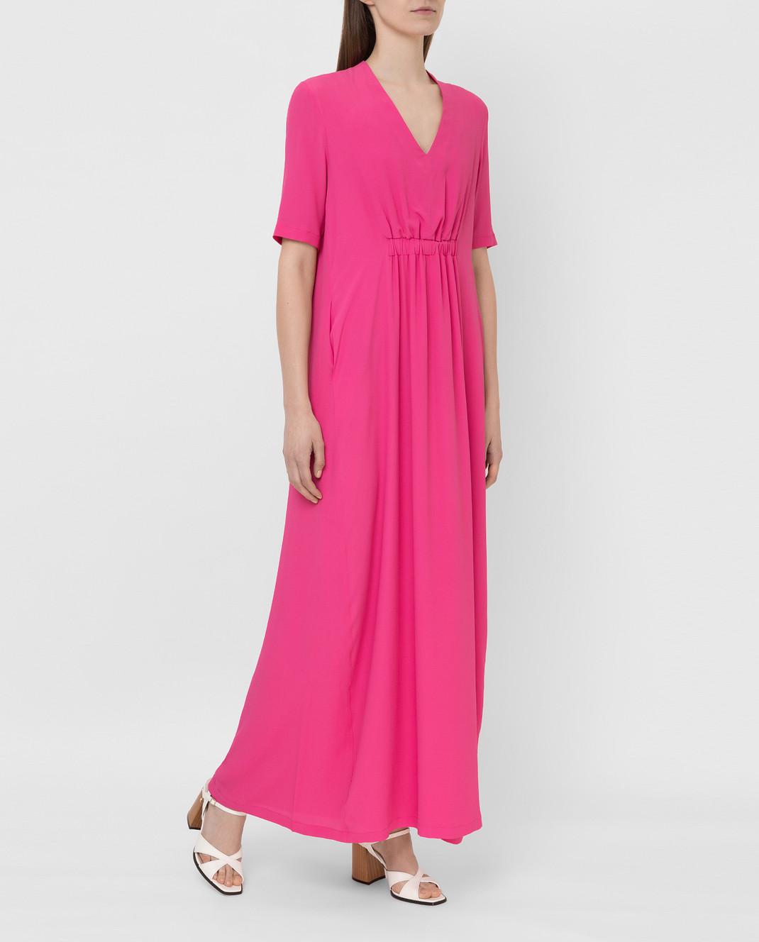 Fabiana Filippi Розовое платье ABD260B985 изображение 2