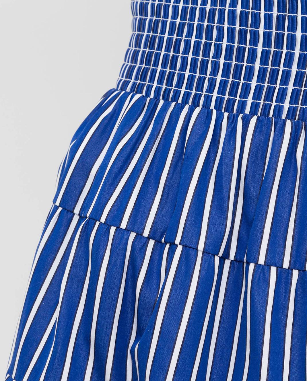 Prada Синяя юбка P149QR1VWT изображение 5