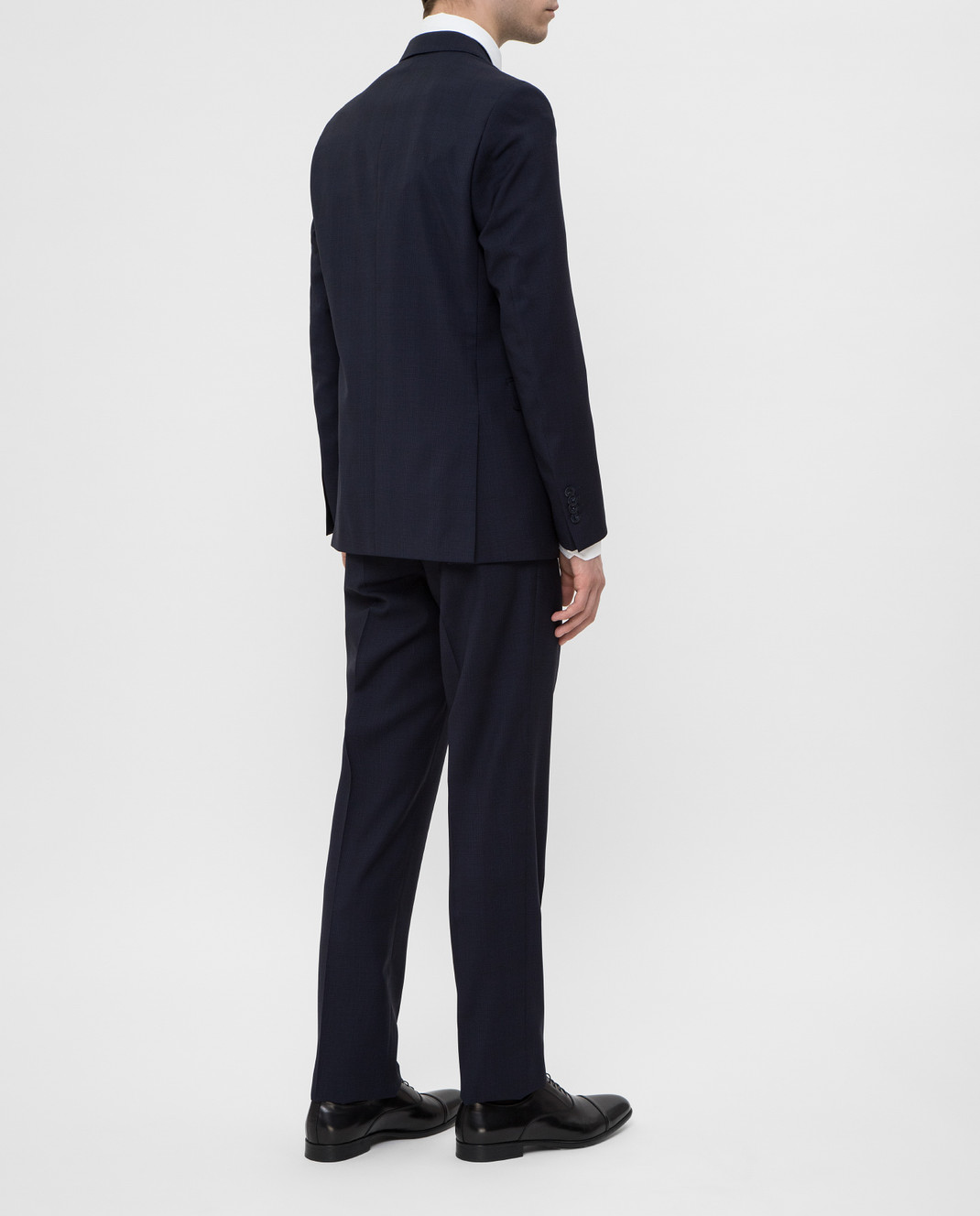 Florentino Темно-синий костюм из шерсти изображение 4