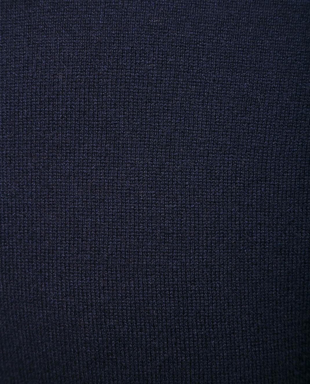 Johnstons Темно-синий свитер из кашемира изображение 5