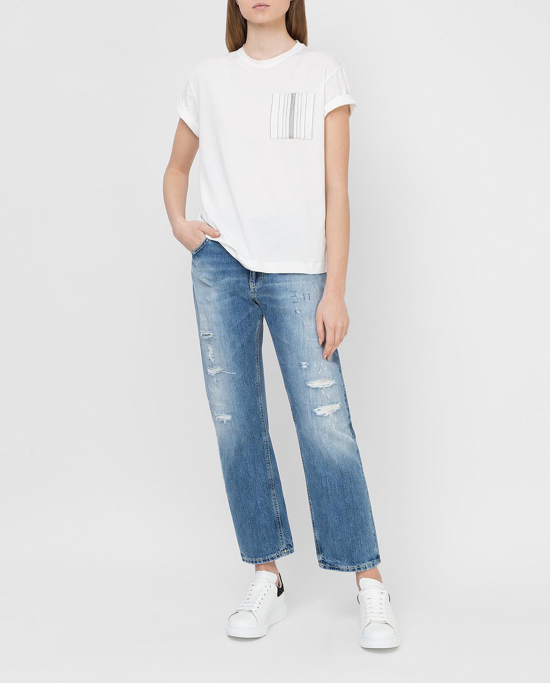 Dondup Голубые джинсы P611 изображение 2