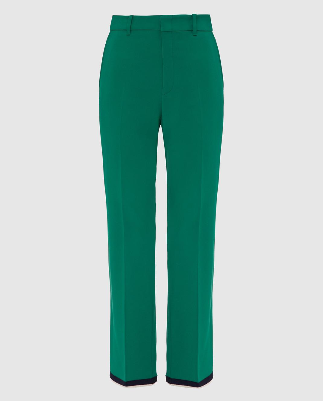 Gucci Зеленые брюки изображение 1