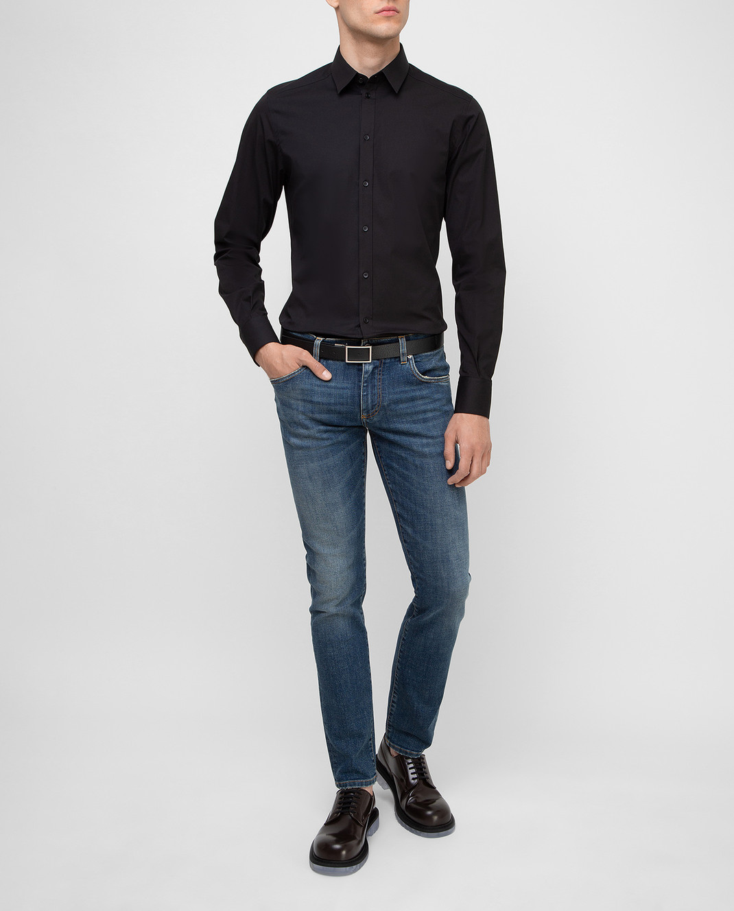 Dolce&Gabbana Черная рубашка изображение 2