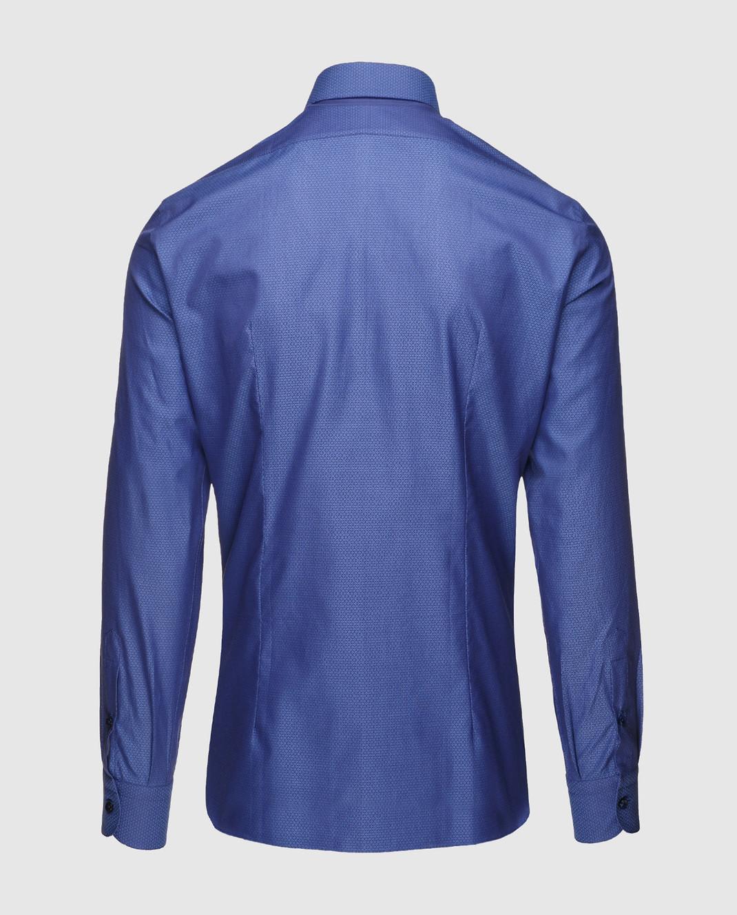 Marol Темно-синяя рубашка 8352 изображение 2