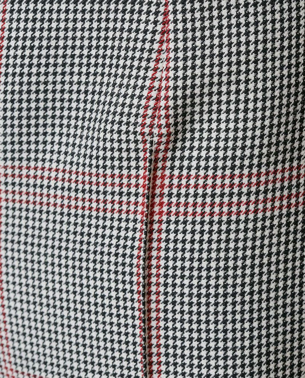 NINA RICCI Серые брюки 17ECPA018WV0211 изображение 5