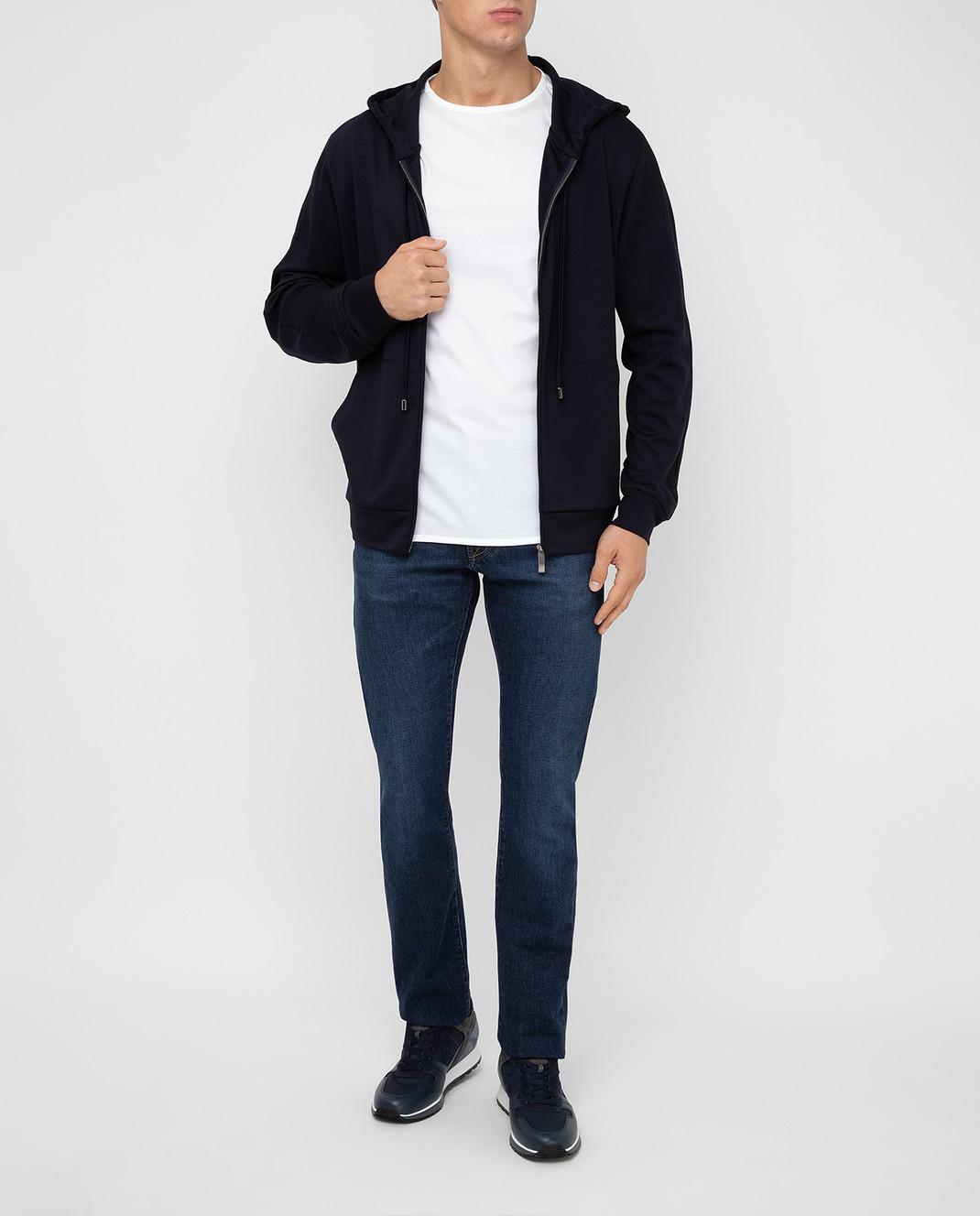 Tramarossa Темно-синие джинсы изображение 2