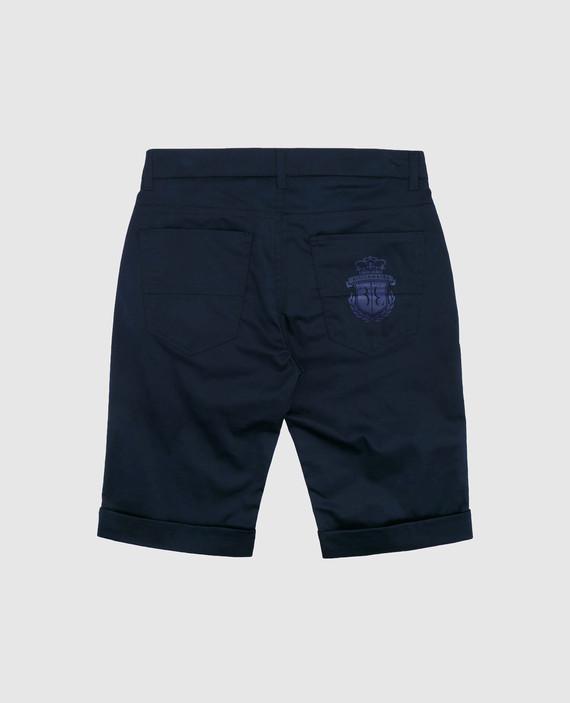Детские темно-синие шорты hover