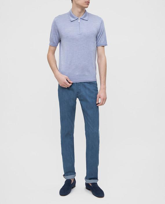 Светло-синие джинсы hover