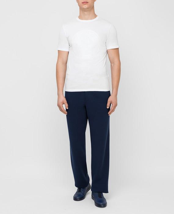 Темно-синие спортивные брюки hover