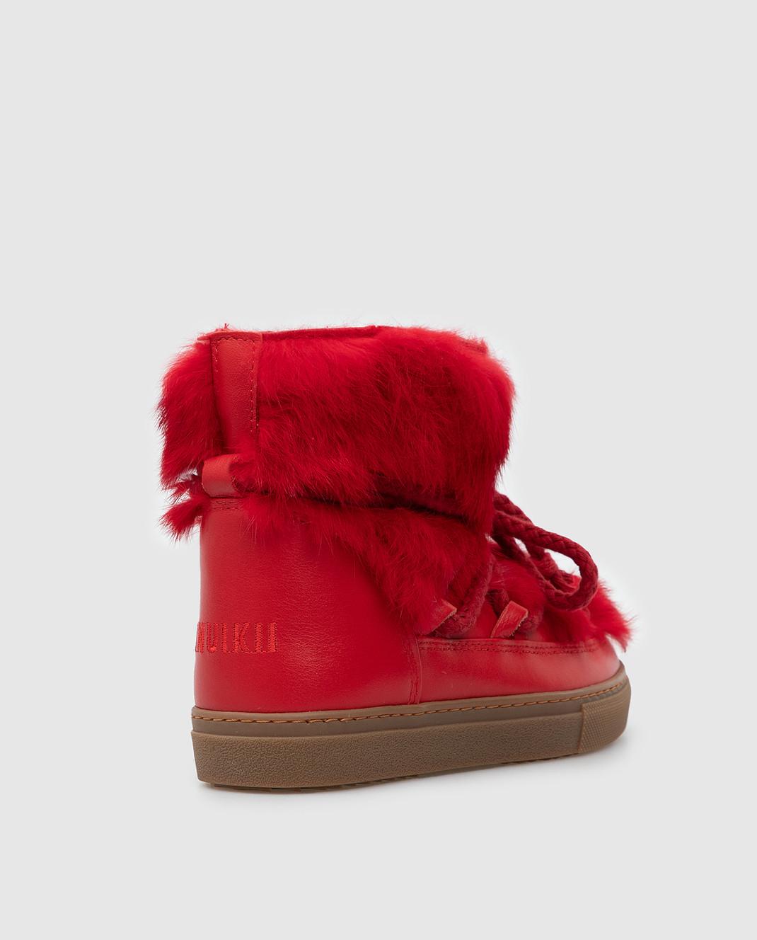 Inuikii Детские красные ботинки 6020242633 изображение 3