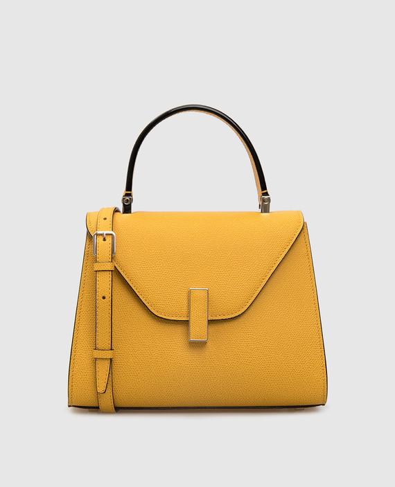 """Желтая кожаная сумка """"Iside"""""""