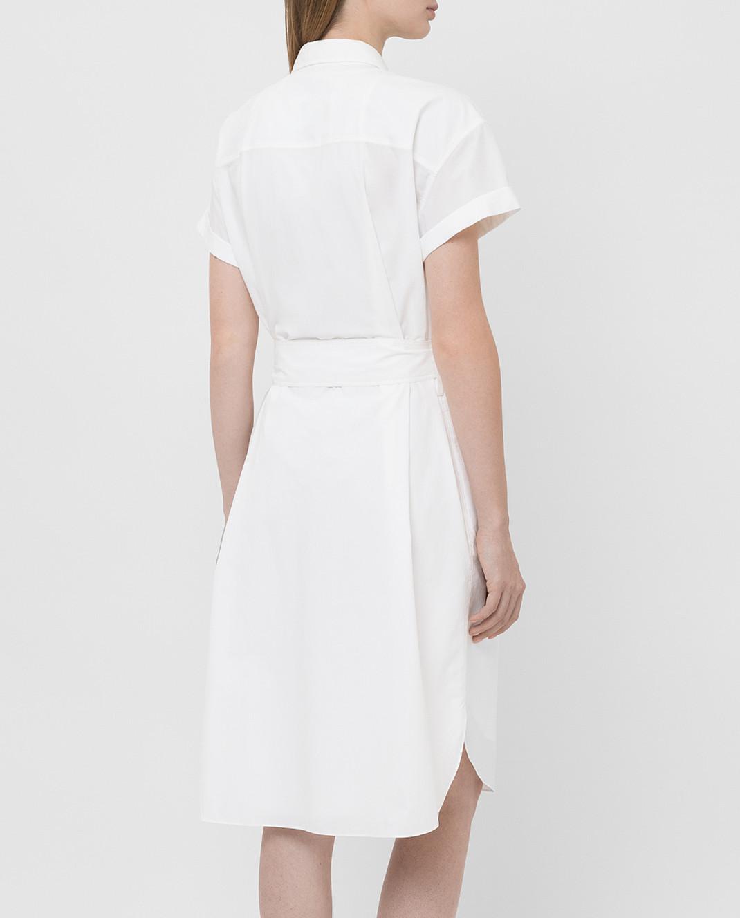 Brunello Cucinelli Белое платье MH127AFM52 изображение 4
