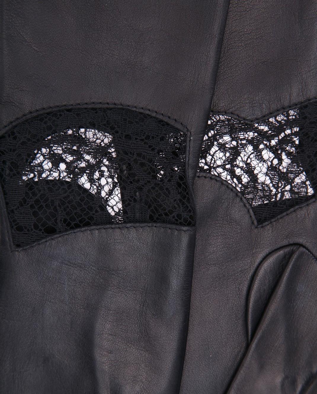 Rindi Черные перчатки с кружевом изображение 3