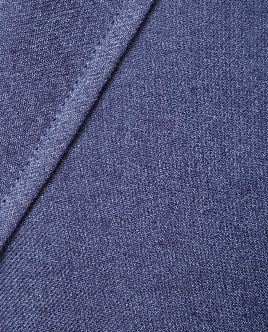 COLOMBO Синий жакет из кашемира и шелка GI00049 изображение 5