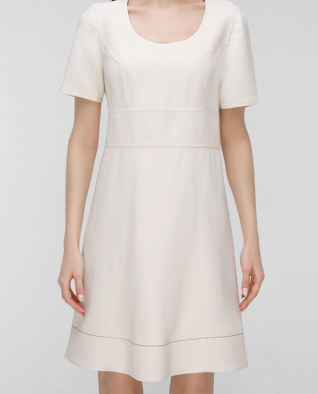 Sonia Rykiel Светло-бежевое платье 17202425 изображение 3