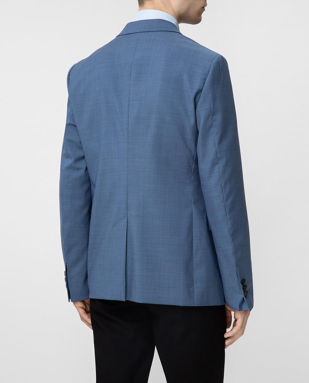 Prada Синий пиджак UGF9421S5T изображение 4