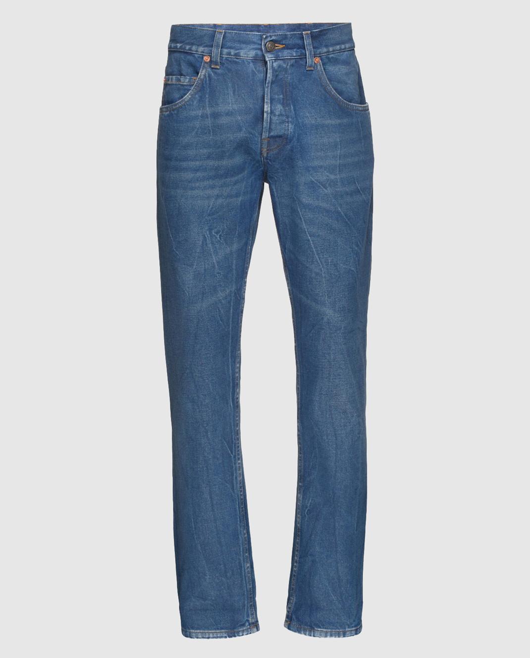 Gucci Синие джинсы 475273